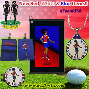 Red, White, Blue Items